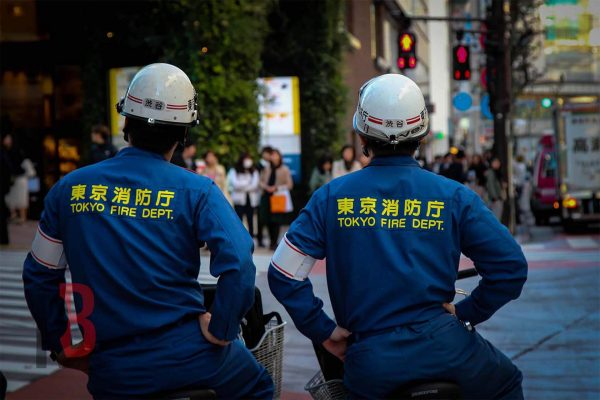 japan tokyo firefighters