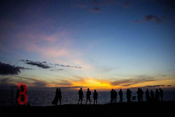 spain gran canaria sunset