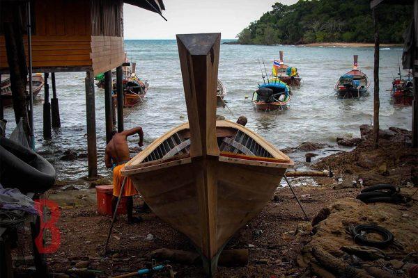 Tailandia ko ngai boats maker