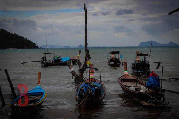 Tailandia ko ngai boats