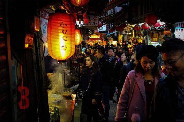 taiwan Jiufen streets nightmarket